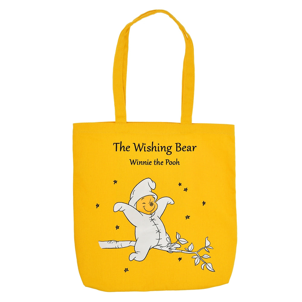 Winnie the Pooh Tote Bag The Wishing Bear Disney Store Japan