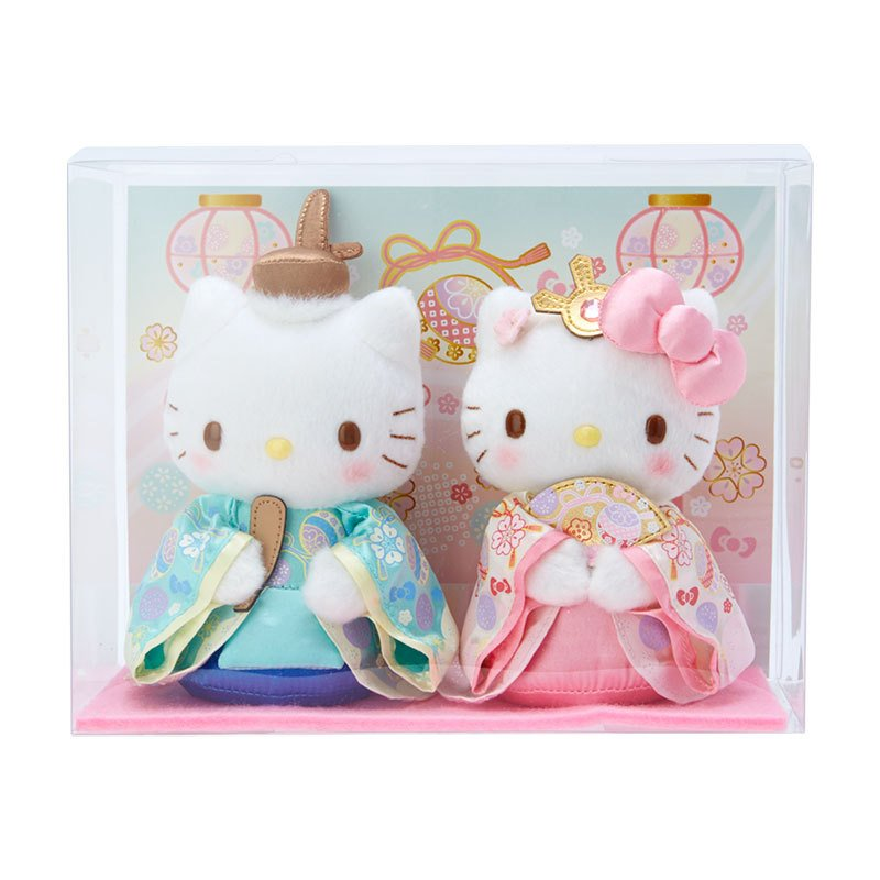 Hello Kitty & Dear Daniel Plush Doll Hinamatsuti Girls' Day Sanrio Japan 2021