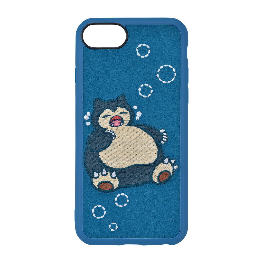 Snorlax Kabigon Yawn iPhone 6 6s 7 8 Case Cover Soft Pokemon Center Japan