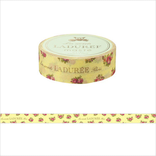 Laduree Macaron Japan Masking Tape Sticker Leonor Yellow