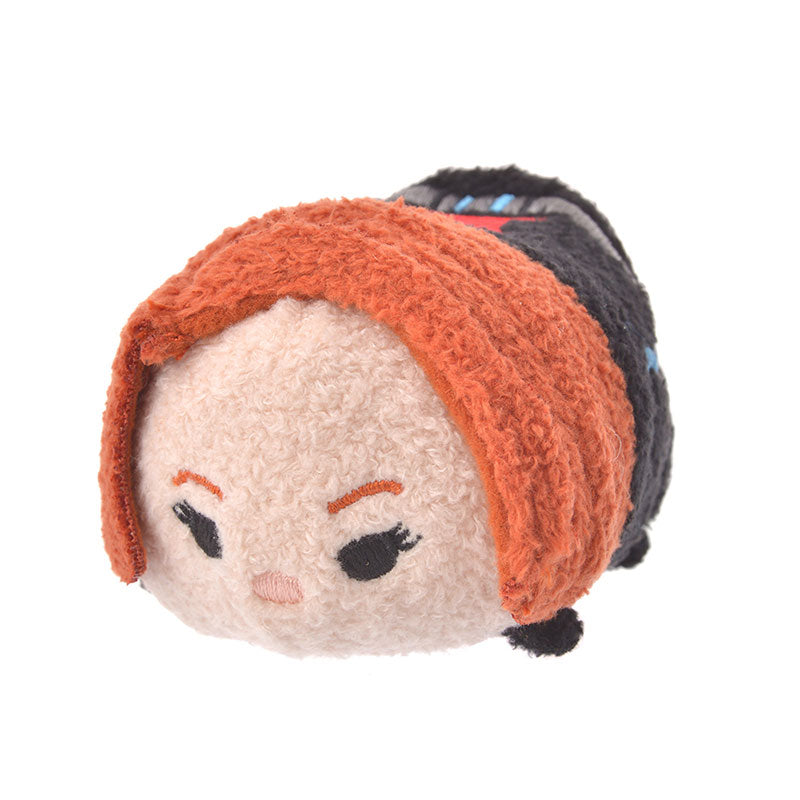 Marvel Black Widow Tsum Tsum Plush Doll mini S Disney Store Japan