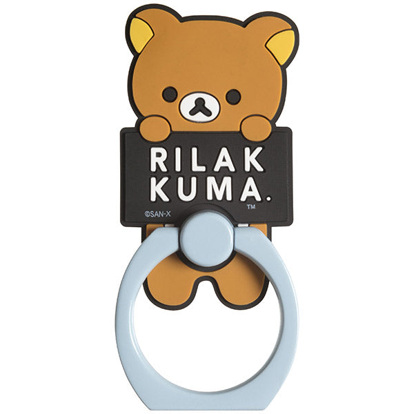 I AM RILAKKUMA Smartphone Ring San-X Japan