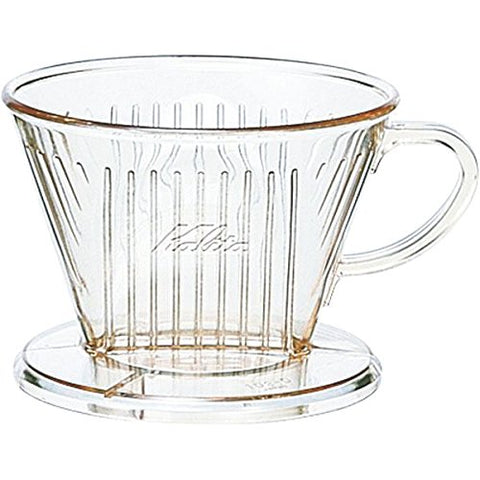 Plastic Coffee Dripper 102 -D for 2~4 person Kalita Japan #05001