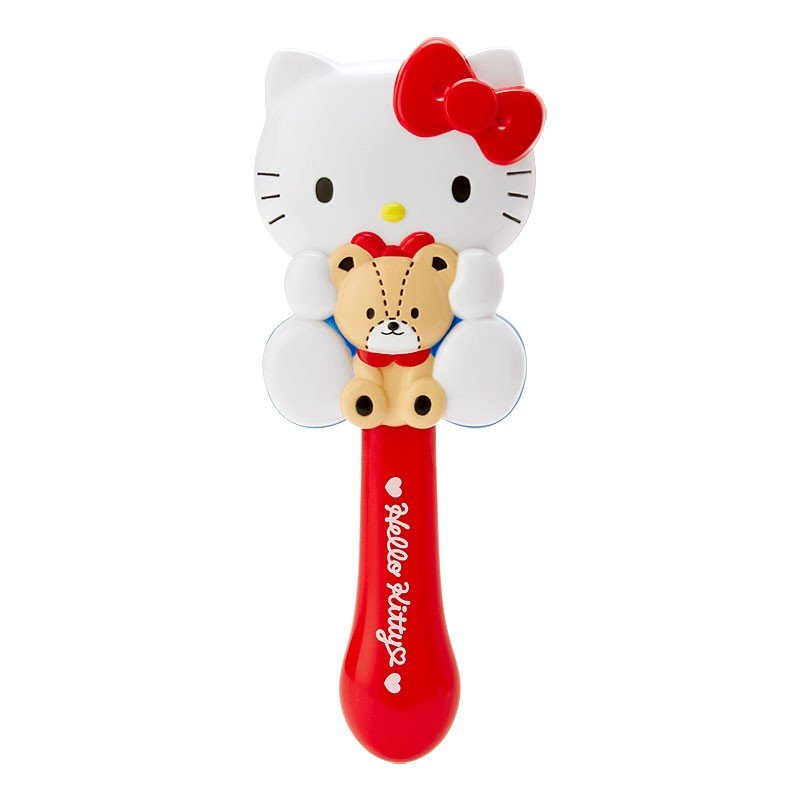 Hello Kitty shape Hairbrush Character Sanrio Japan