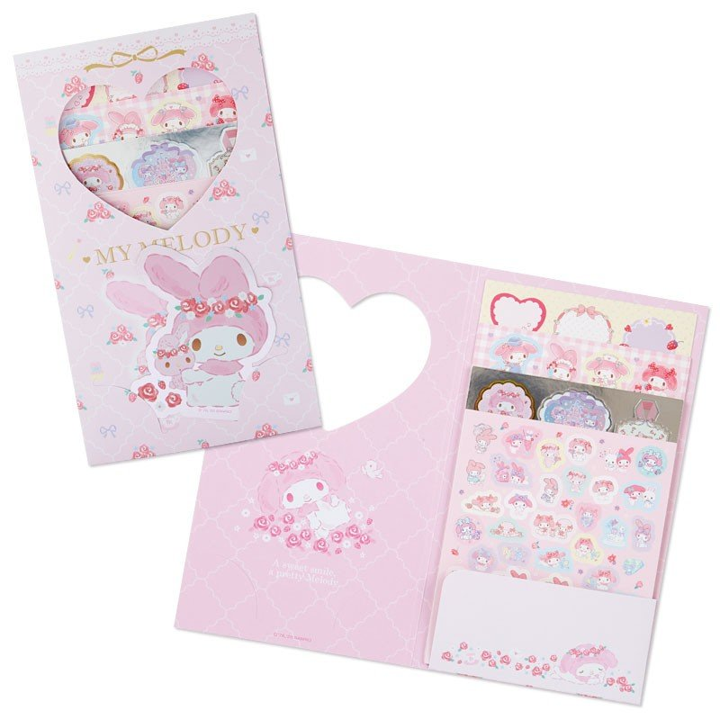 My Melody Volume Sticker Set Sanrio Japan