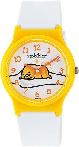 Gudetama Egg Wrist Watch Waterproof HT01-002 CITIZEN Q&Q Japan Sanrio