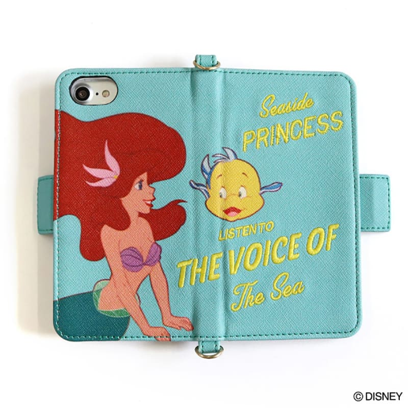 Little Mermaid Ariel iPhone 6 6s 7 8 Case Cover Moment ACCOMMODE Disney Japan