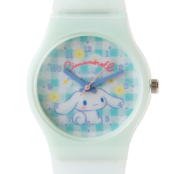 Cinnamoroll Kids Rubber Watch Flower Sanrio Japan