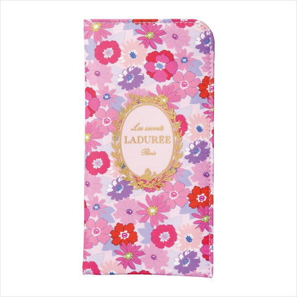 Glasses Case Mathilde Flower Pink Laduree Japan