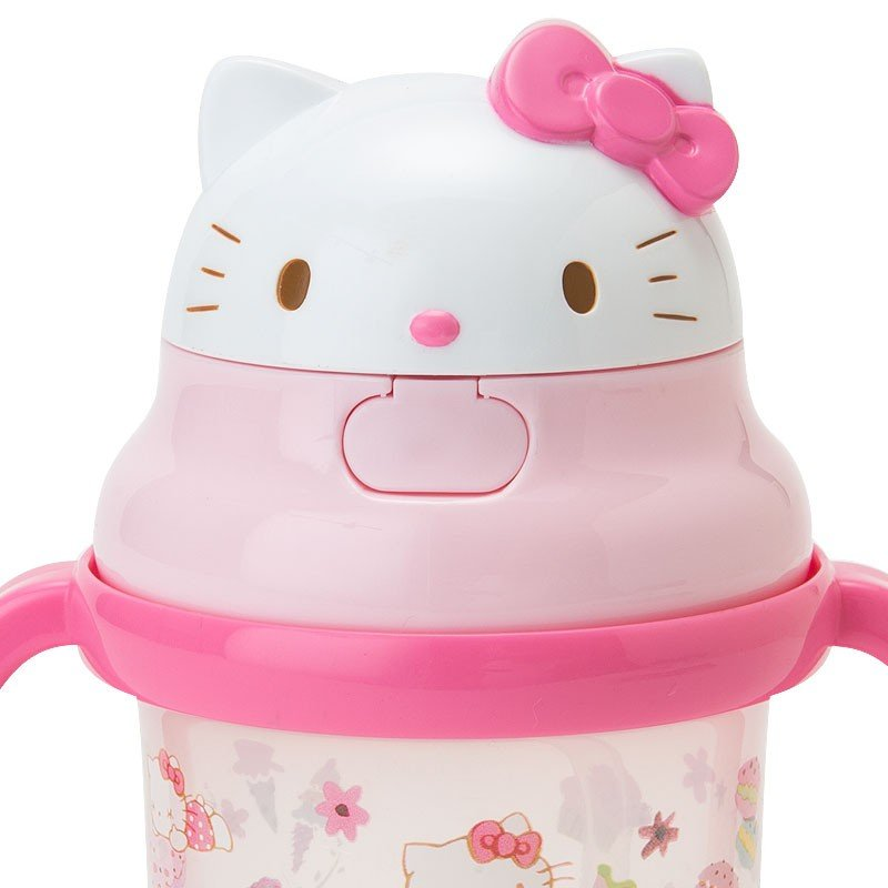 Hello Kitty Training Straw Mug Cup Sanrio Japan Baby