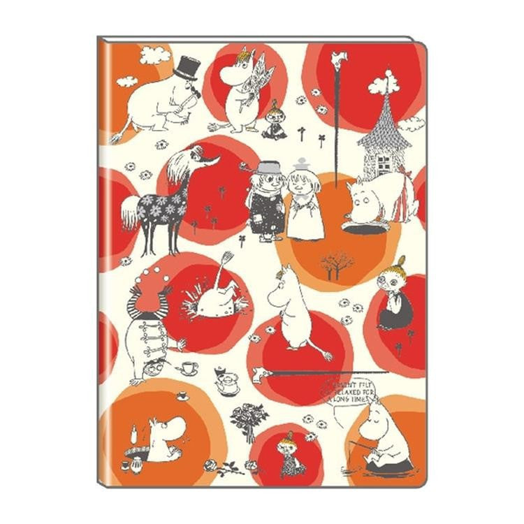 Moomin 2019 Schedule Planner Book A5 Monthly Dot Japan Moomin Delfino