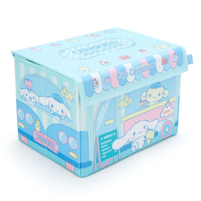 Cinnamoroll Storage Box with Lid Sanrio Japan