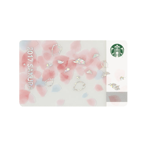 Gift Card Sakura 2017 Starbucks Japan Purity