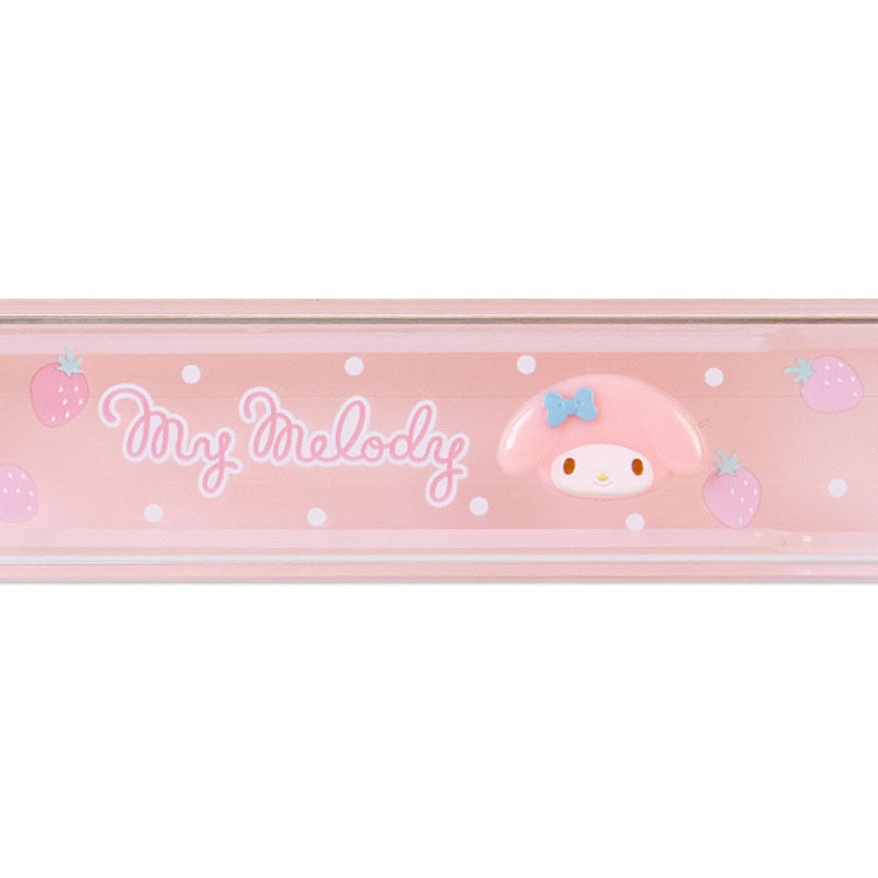 My Melody Relief Chopsticks & Case Sanrio Japan