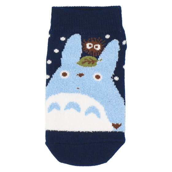 My Neighbor Totoro Socks Kids 13-19cm Navy Studio Ghibli Japan