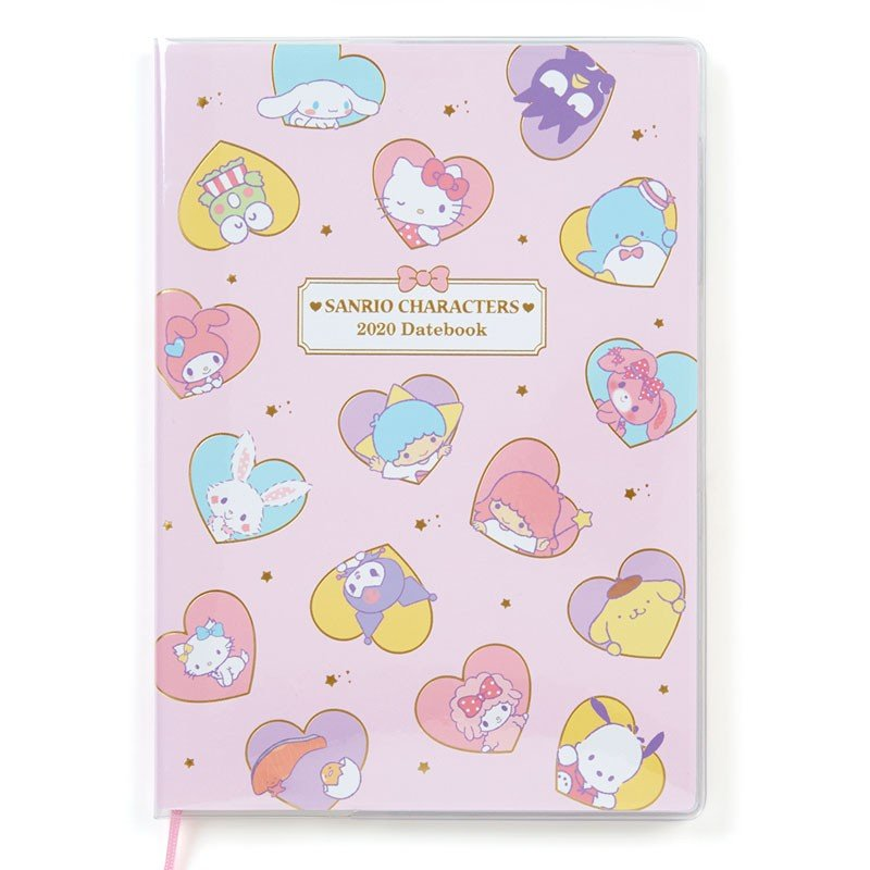 2020 Schedule Book Monthly B6 Sanrio Characters Heart Sanrio Japan