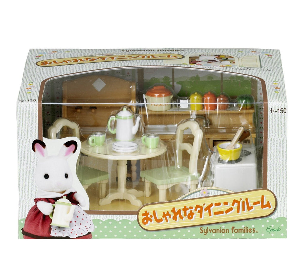 Sylvanian Families Dining Room Set Se-150 Japan (Calico Critters)