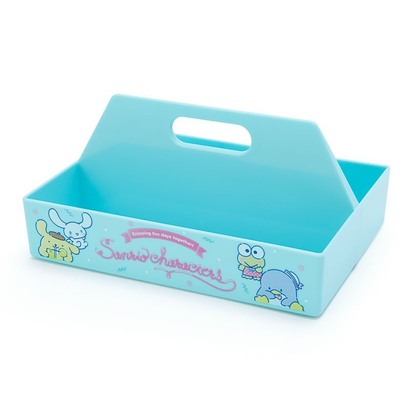Storage Box mini Carry Character Blue Sanrio Japan