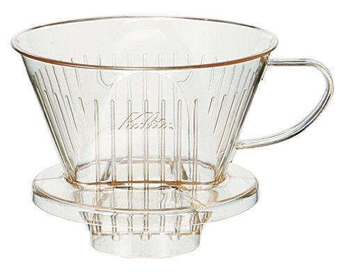 Plastic Coffee Dripper 103 -D for 4~7 person Kalita Japan #06001