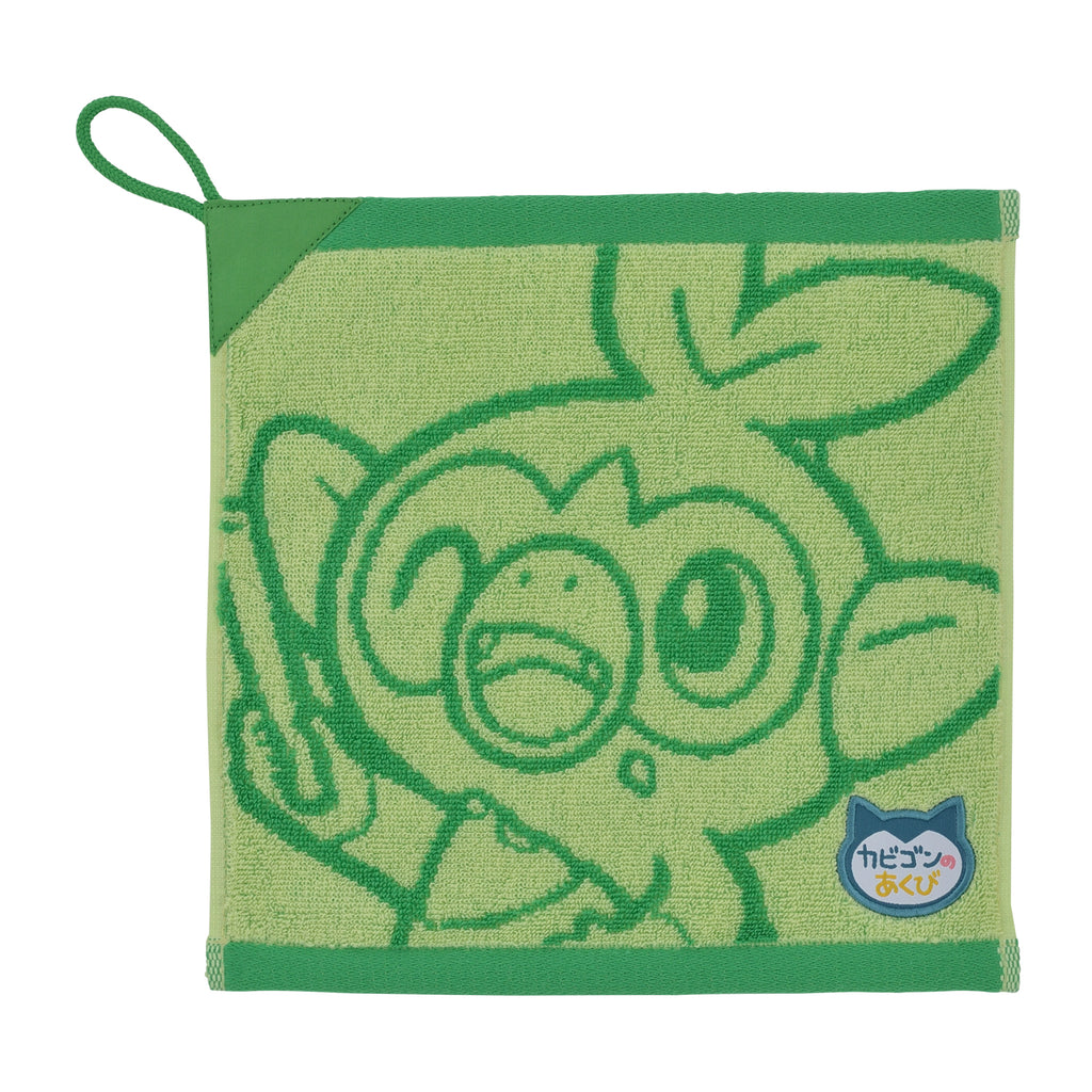 Grookey Sarunori Hand Towel Snorlax Yawn Pokemon Center Japan Original