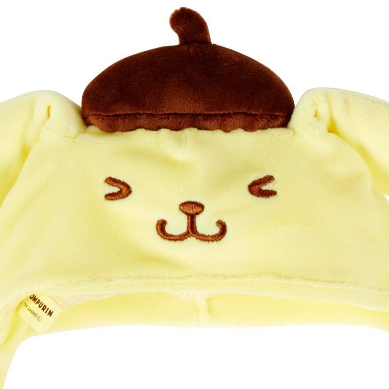 Pom Pom Purin Ear Move Hat Costume for Plush Munyu Doll Sanrio Japan