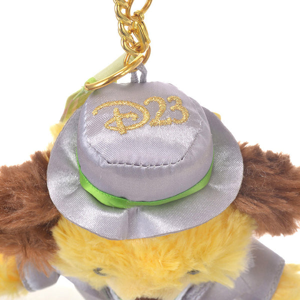 UniBEARsity Maple Pluto Plush Keychain 7th Anniversary Top Hat Disney Japan