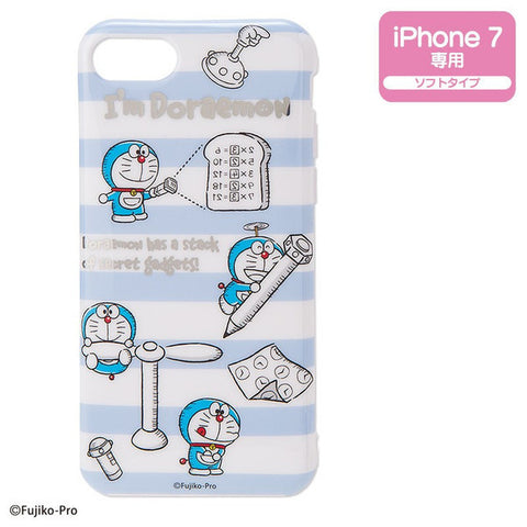 Doraemon iPhone 7 Soft Case I'm DORAEMON Sanrio Japan