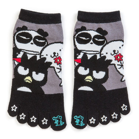 Bad Badtz-Maru Five Finger Toe Socks Star Sanrio Japan