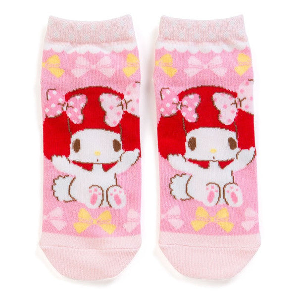 My Melody Sneaker Socks Red Riding Hood Sanrio Japan