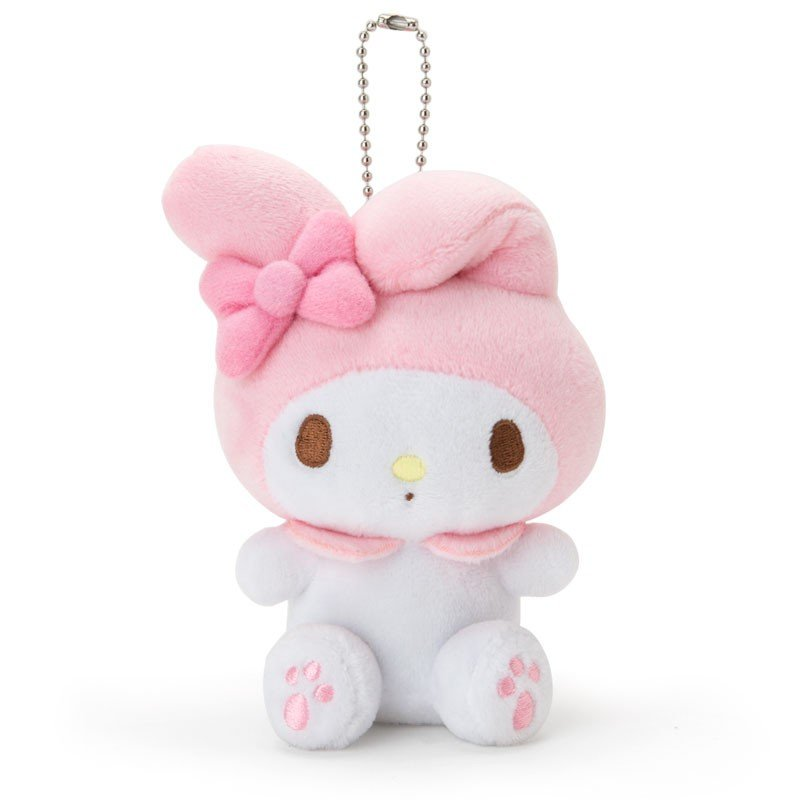 My Melody Plush Mascot Holder Keychain Sanrio Japan 2019