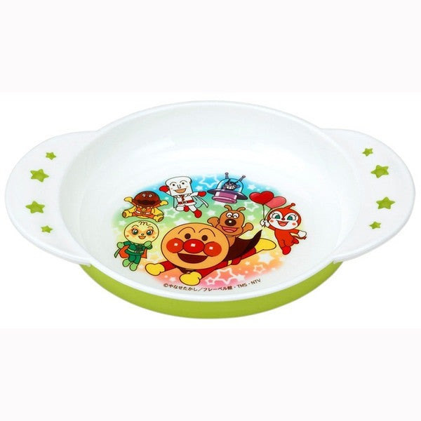 Anpanman Small Plate Green Japan Kids Baby