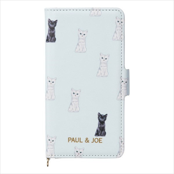 iPhone 6 6s 7 8 Case Cover Chesscat Flip Blue PAUL & JOE Japan