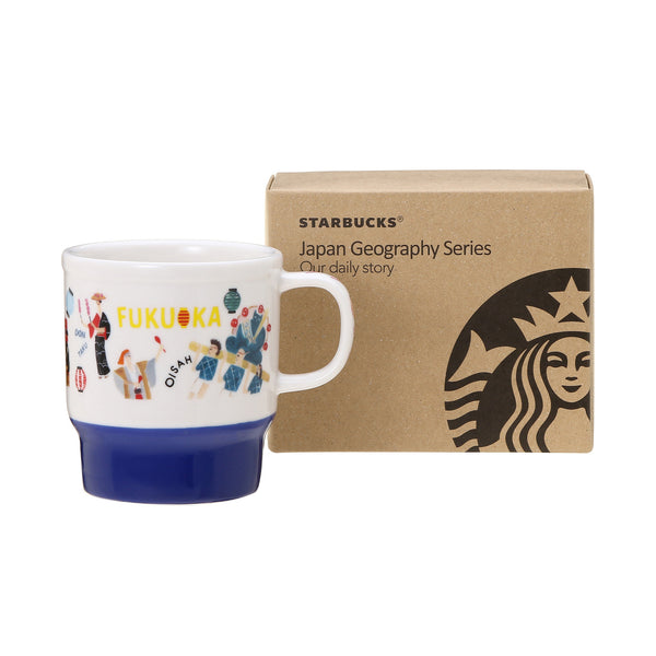 Mug Cup Gift Box Fukuoka 2016 Starbucks Japan