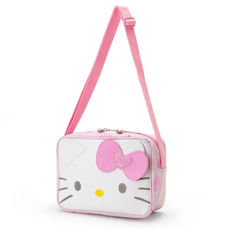 Hello Kitty Shoulder Bag Face Sanrio Japan Kids