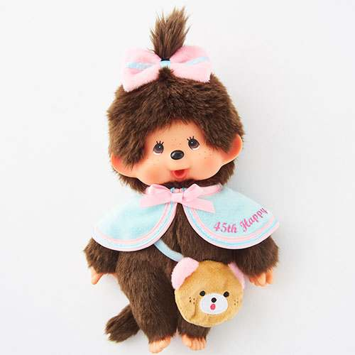 Monchhichi Doll M Girl HAPPY TRIP MONCHHICHI Japan