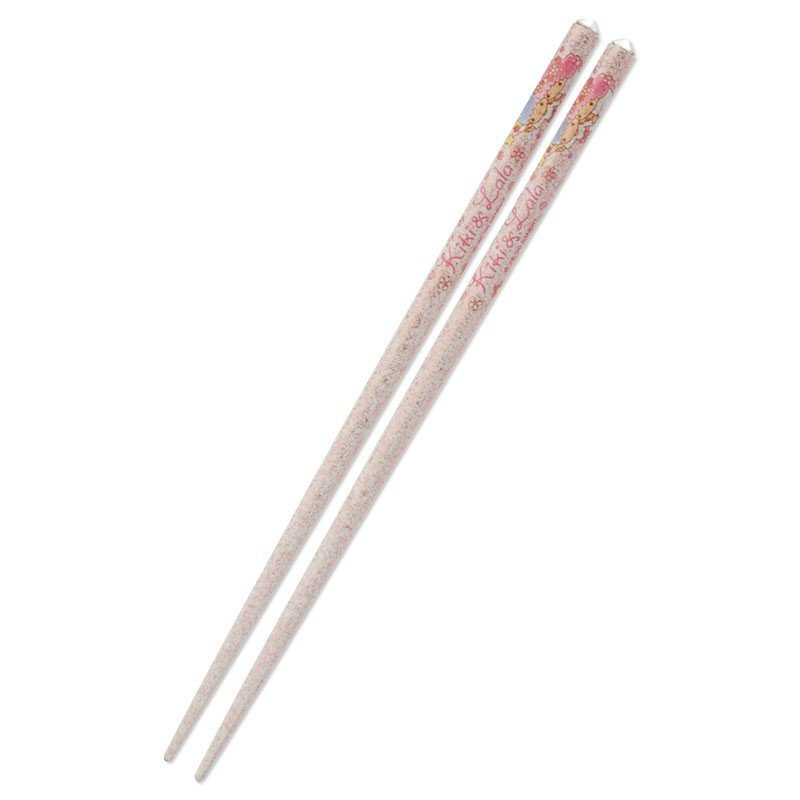 Little Twin Stars Kiki Lala Chopsticks Glitter Sakura Sanrio Japan 2020