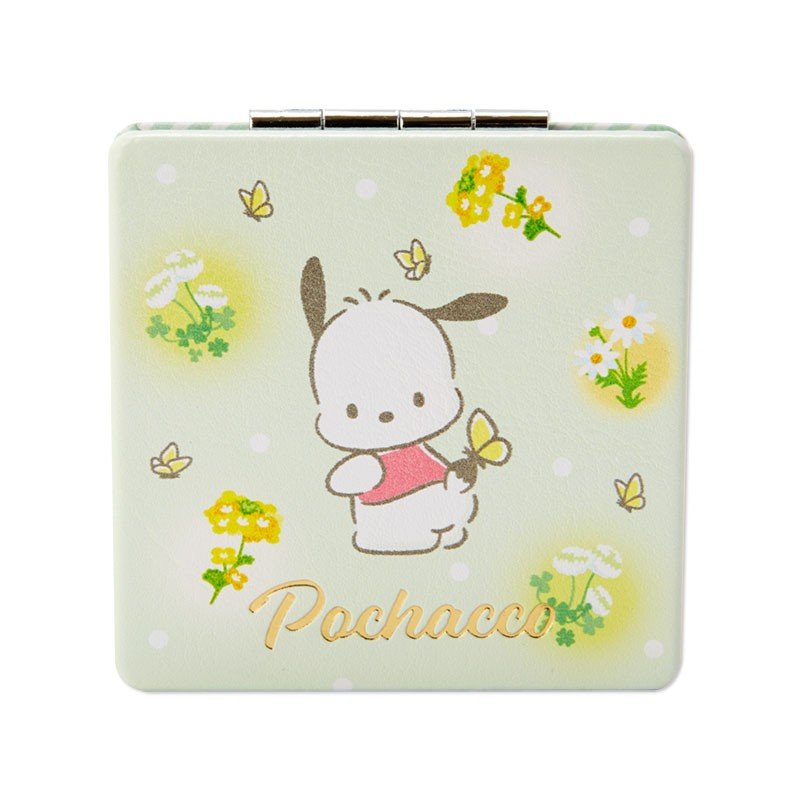 Pochacco Double Mirror HAPPY SPRING Sanrio Japan