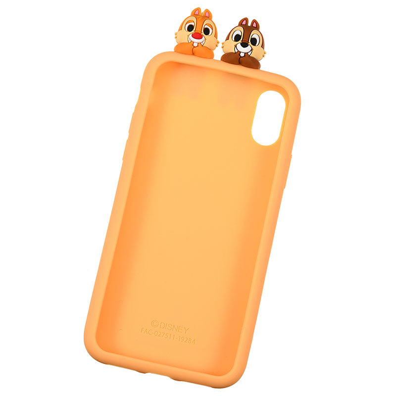 Chip & Dale Silicone iPhone X / XS Case Cover Peep Disney Store Japan