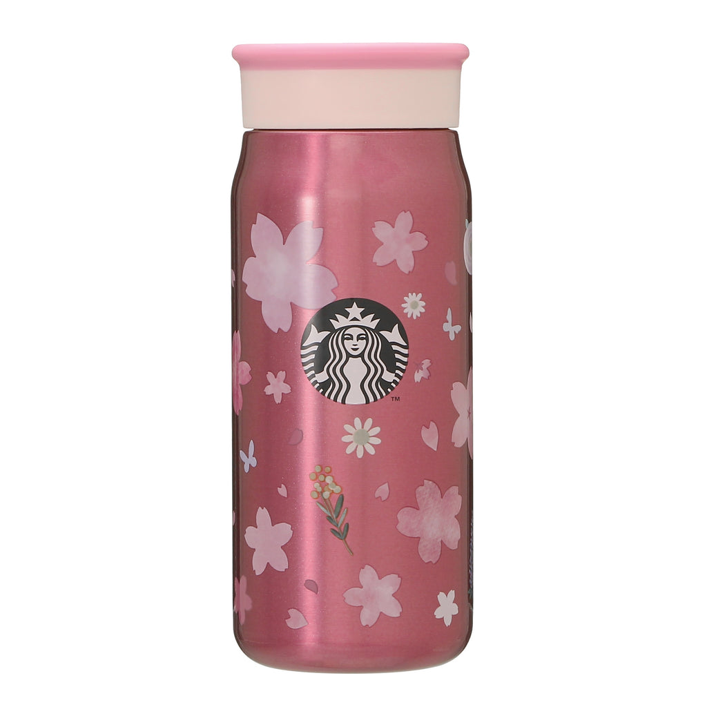 Stainless Mini Bottle Tumbler Spring Bloom 355ml SAKURA 2021 Starbucks Japan
