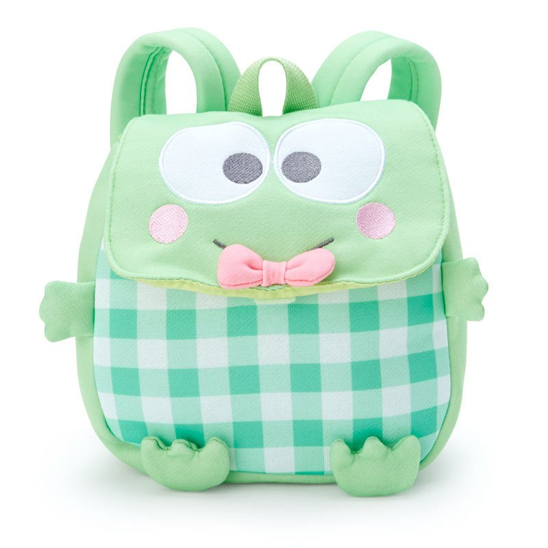 Kero Kero Keroppi Frog Kids Backpack Face Sanrio Japan