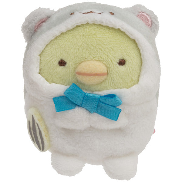 Sumikko Gurashi Penguin ? Hamster mini Tenori Plush Doll San-X Japan New Year