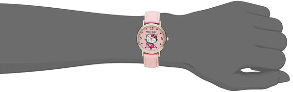 Hello Kitty Wrist Watch Waterproof Pink HK15-005 CITIZEN Q&Q Japan Sanrio