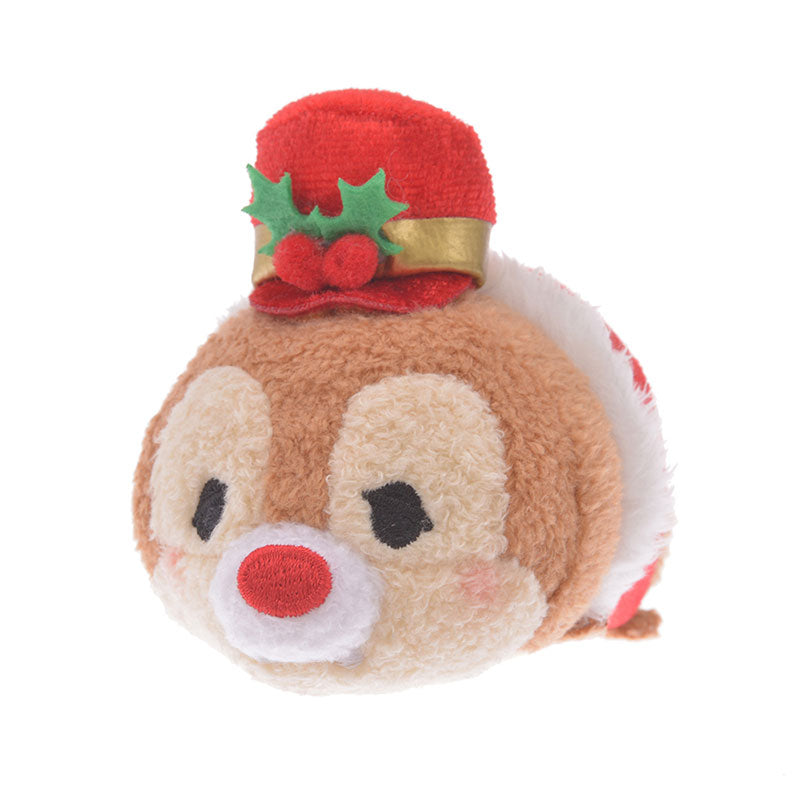 Dale Tsum Tsum Plush Doll mini S Holly Disney Store Japan Christmas 2019