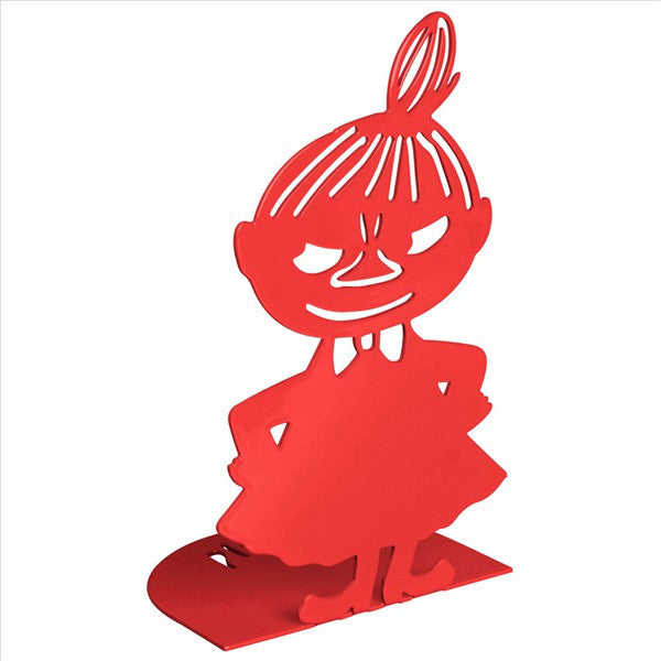 Little My Metal Book Stand 2pcs Set Red Pluto Produkter Moomin