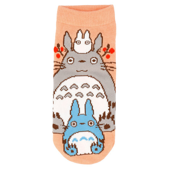 My Neighbor Totoro Short Socks 23-25cm Orange Studio Ghibli Japan