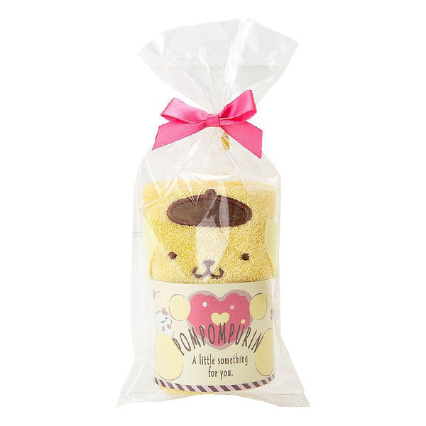 Pom Pom Purin mini Towel Heart Valentine 2018 Sanrio Japan