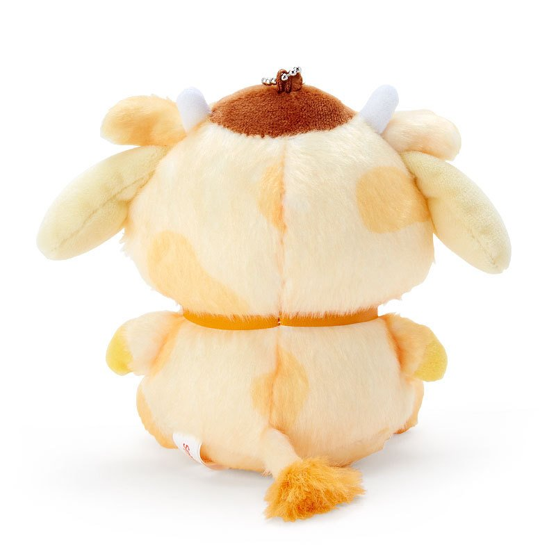Pom Pom Purin Plush Mascot Holder Keychain Zodiac Cow Sanrio Japan New Year 2021