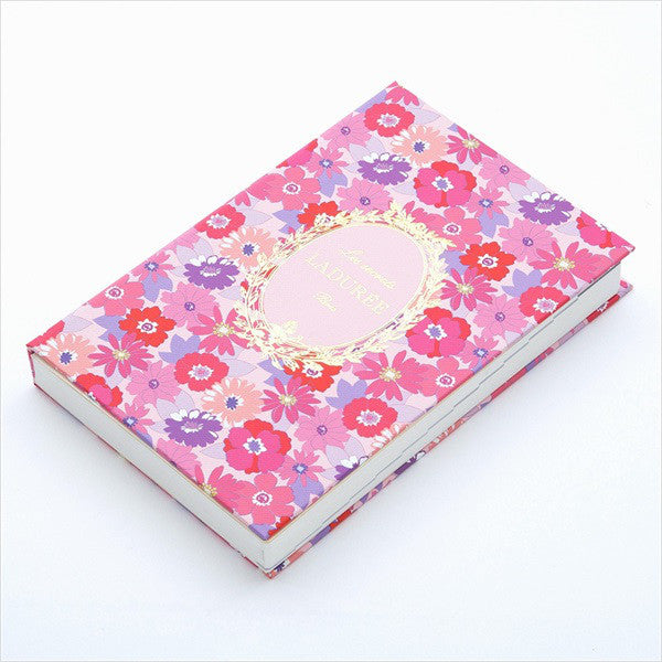 2019 Schedule Planner Book B6 Daily Mathilde Flower Pink Laduree Japan