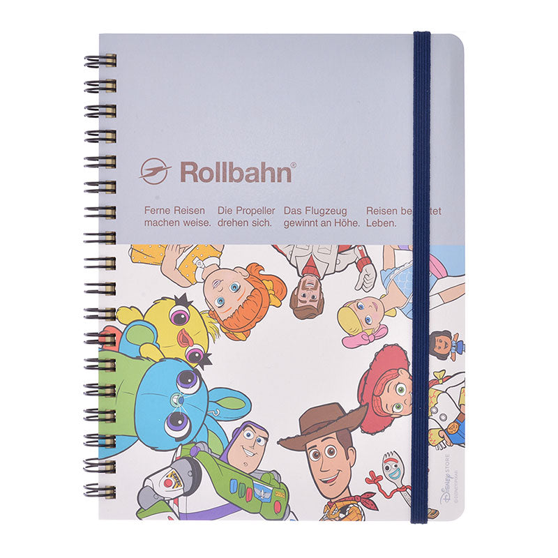 Toy Story 4 Rollbahn Ring Notebook Pocket Disney Store Japan