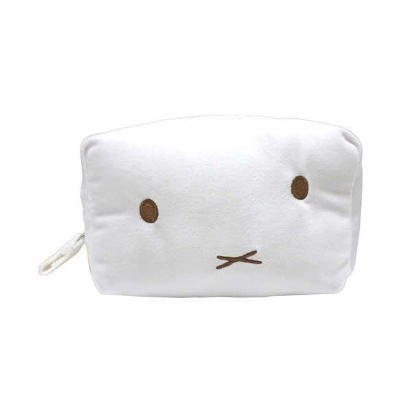 Miffy Fluffy Square Pouch Dick Bruna Japan